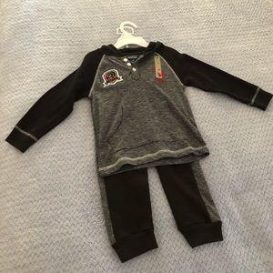 Ralph Lauren US Polo Assn Boys Sweat Suit Set 4T